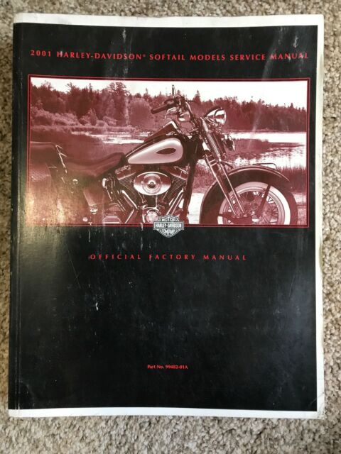 Harley Davidson 2001 Softail Models Official Factory