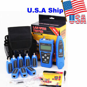 usa ship nf 388 network ethernet lan phone tester wire cable tracker rh ebay com