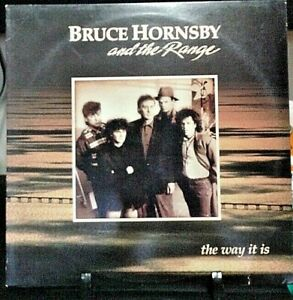 BRUCE HORNSBY & THE RANGE The Way It Is Album Released 1986 Vinyl/Record USA