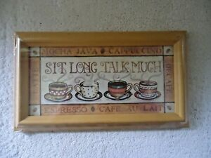Figi-Graphics-034-NIP-034-034-Sit-Long-Talk-Much-034-Framed-Wall-Hanging-Picture