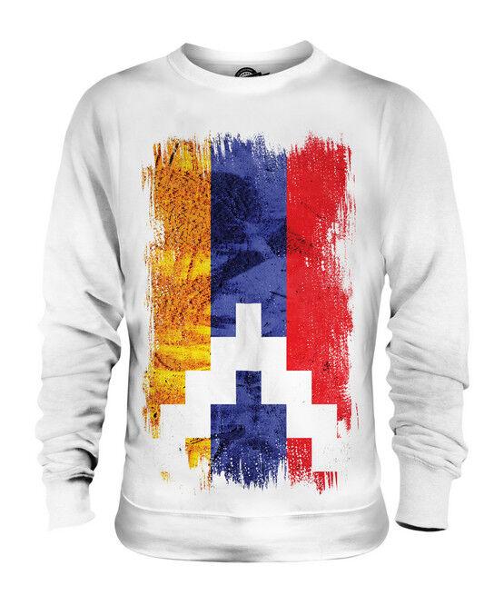 NAGORNO-KARABAKH REPUBLIC GRUNGE FLAG UNISEX SWEATER TOP SHIRT CLOTHING JERSEY