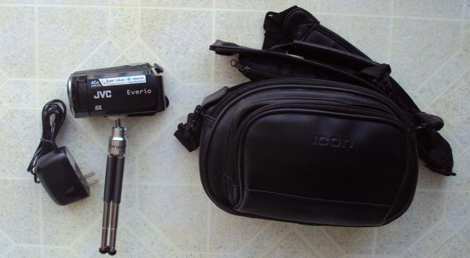 s l1600 - JVC Everio GZ-MS110BU Camcorder 45X Dynamic Zoom