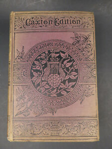 Antique Book: The Mysterious Island, Jules Verne Caxton Edition