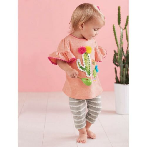 Mud Pie E8 Desert Fun Baby Girl Desert Bloom Tunic /& Capri Set 1112406 Choose