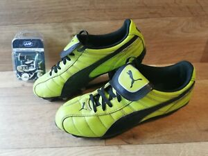 Rare Puma Mens Esito Xl H8 Lime Green Size 8 Soft Ground Rugby Boots Metal Studs Ebay