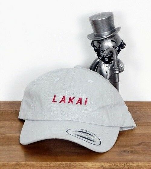 Lakai Footwear Skate Shoes Gorro Cap Hat Papá Snapback Script Heather Grey