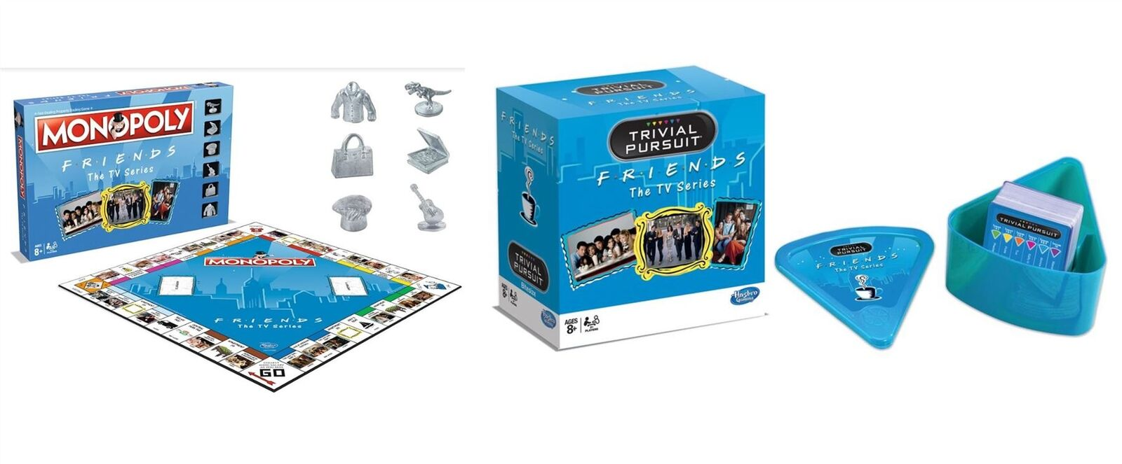 Friends   F.R.I.E.N.D.S  - Monopoly & Trivial Pursuit Bundle Combo