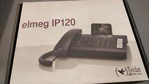 Elmeg IP120 - Teldat Bintec Funkwerk - Telefono VoIP Nero