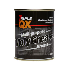 Triple-QX-Multi-Purpose-Molybdenum-Moly-Grease-500g-Lubricant-High-Melting-Point