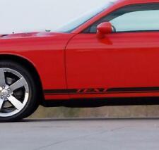 Rocker Stripes Fits Dodge Challenger Rt Srt Sxt Hellcat Rocker Graphic Decal 3m