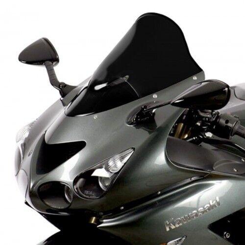 Verkleidungsscheibe Racing schwarz f/ür Honda