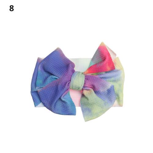 Baby Girl Big Bow knot Headbands Head wrap Turban Elastic Headband Hairband