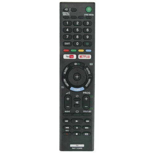 Replacement Remote Control for SONY BRAVIA TV Model KD-55XF7000