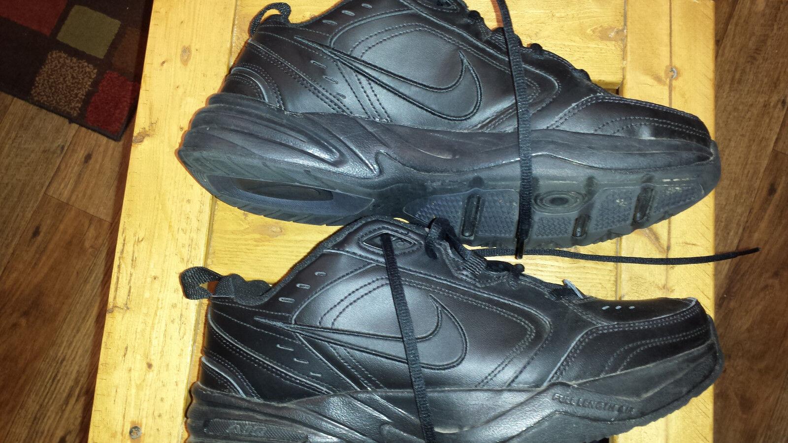 Air hombres Monarch zapatos corrientes de los hombres Air de negro talla 10 5d94c2