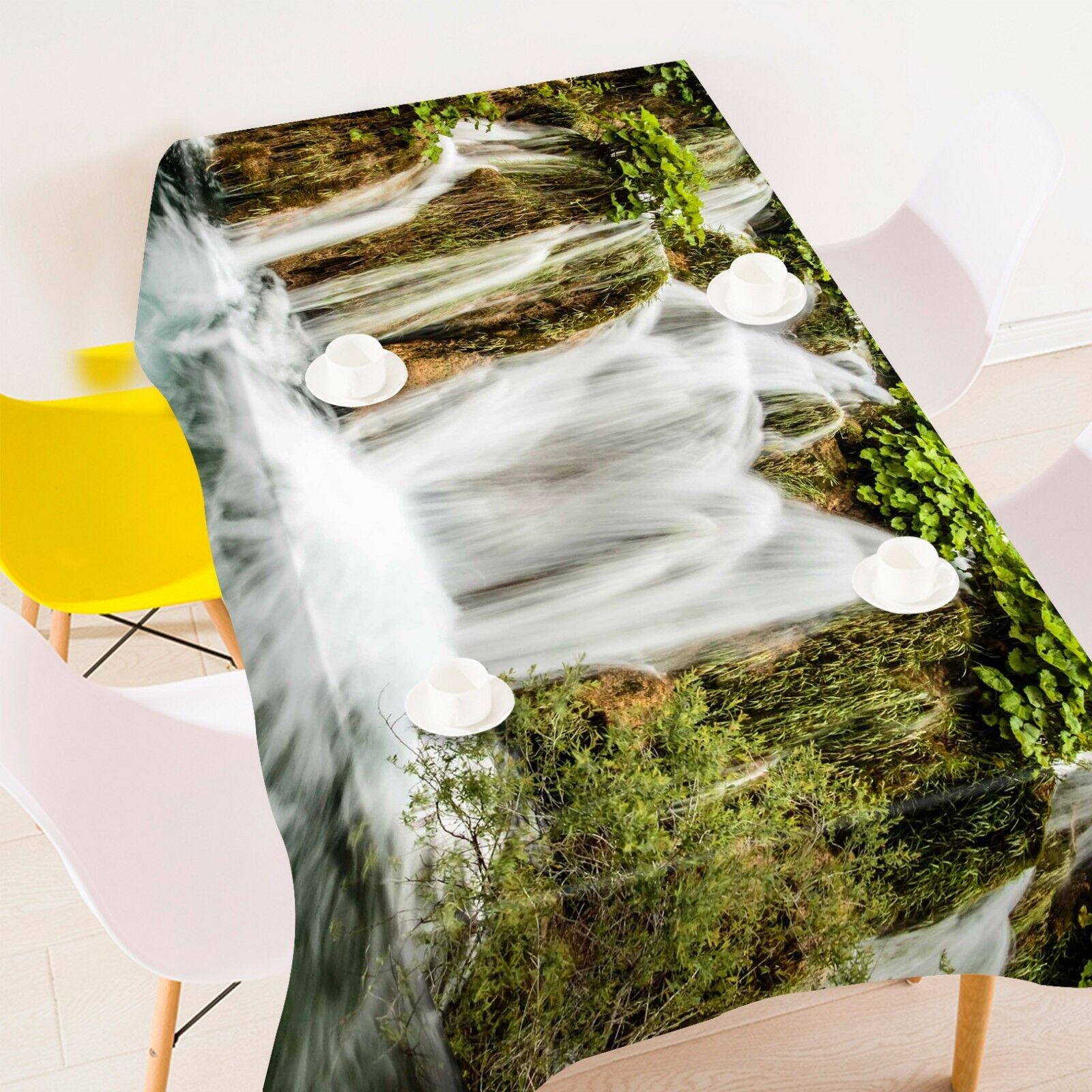 3D Streams 422 Tablecloth Table Table Table Cover Cloth Birthday Party Event AJ WALLPAPER 174ac9