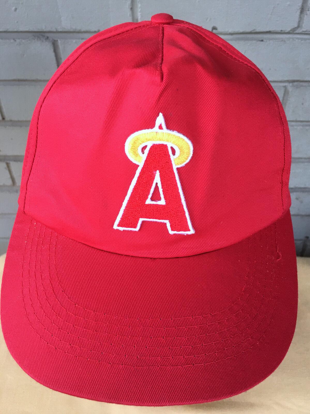 VTG California Anaheim Angels Cap MLB Logo 7 Snapback Baseball Cap Angels Hat cf5183
