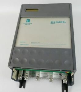 Automation, Antriebe & Motoren Konstruktiv Pp3581 Stromrichter Eurotherm 590 Digital 590/500/0500/9 40/10a