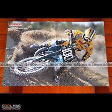 ALEX PUZAR en 1997 MOTO-CROSS - Poster Pilote Moto #PM1492