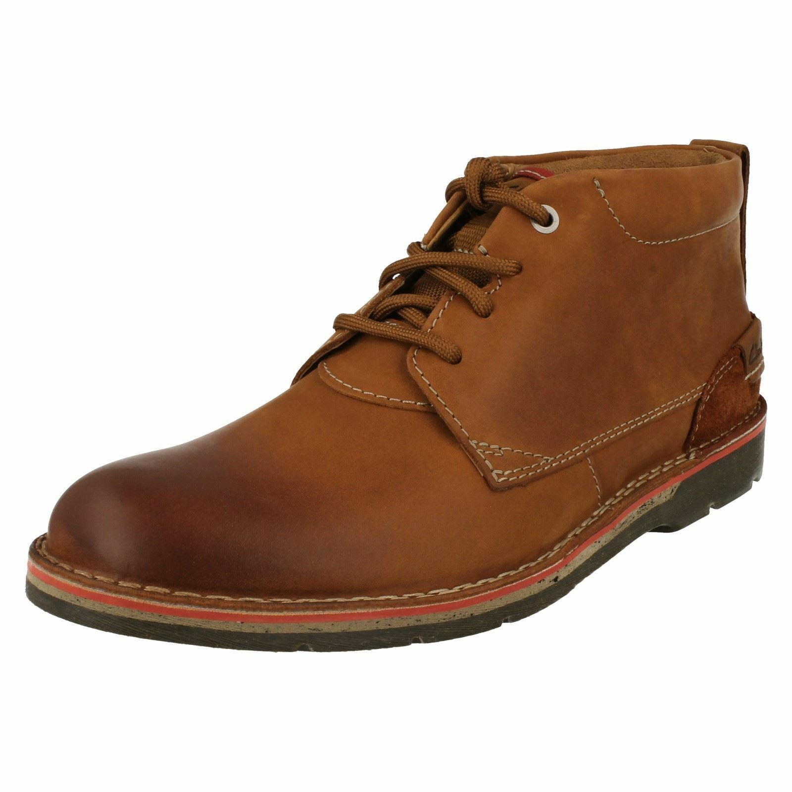 Mens Clarks Casual Boots 'Edgewick Mid'