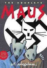 The Complete Maus - by Art Spiegelman Holocaust Paperback Book 2003 1st Edition