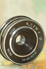 INDUSTAR 69 Lens Chaika Wide Angle Russian Pancake SONY NEX M39 i-69
