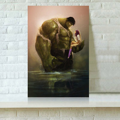 HD Print Oil Painting Home Decor on Canvas Starfire DC Comics 12x18inch Unframed