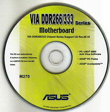 ASUS A7V333 RAID  Motherboard Drivers Installation Disk M270