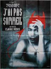 J'AI PAS SOMMEIL Affiche Cinéma / Movie Poster BEATRICE DALLE