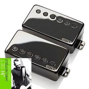 EMG-JH-James-Hetfield-Active-Humbucker-Pickup-Set-Black-Nickel-Solderless