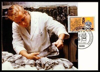 Arbeitswelt-branchen Geschickt Berlin Mk 1987 Berufe KÜrschner Fell Maximumkarte Carte Maximum Card Mc Cm M773 NüTzlich FüR äTherisches Medulla