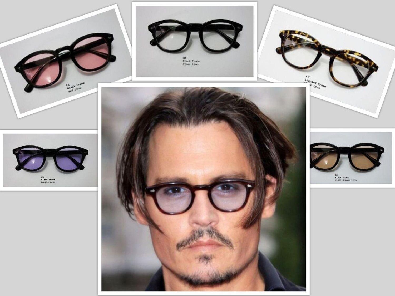 ca3e6cd9082 Vintage Johnny Depp Sunglasses Lens Fashion Retro Frame Glasses Mens  Polarized