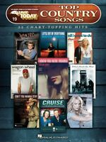 Top Country Songs Sheet Music E-z Play Today Book 000137780