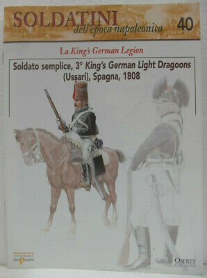 "Soldatini Napoleonici In Piombo ""soldato Semplice, 3° King's German Light Dragoo"