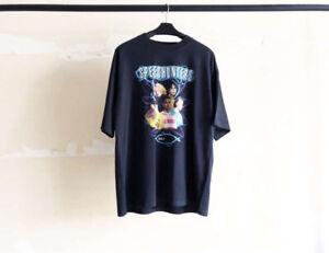 Camiseta del de tour tamaño Falectoin 19ss la de Speedhunter banda de gran de París SqapFwnSx