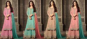 Indian-salwar-kameez-suit-Pakistani-designer-Dress-Bollywood-ethnic-wedding-FM