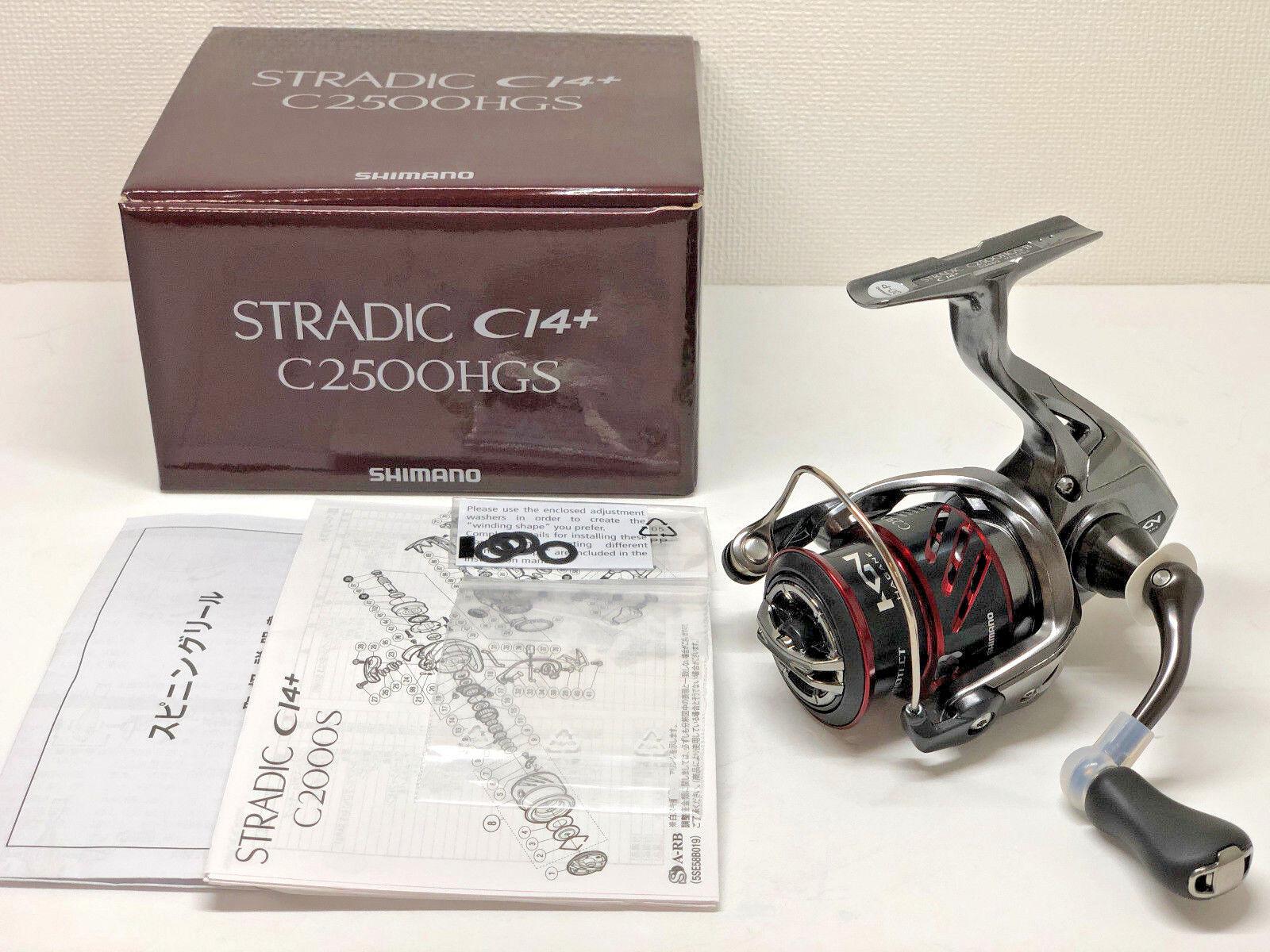 SHIMANO 16 STRADIC CI4+ C2500HGS   - Free Shipping from Japan