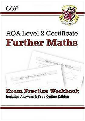 1 of 1 - AQA Level 2 Certificate in Further Maths - Exam Practice Workbook (with Answers