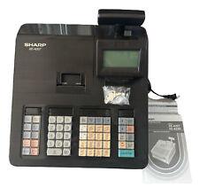 Xea207 Sharp Xea207 Menu Based Control System Cash Register