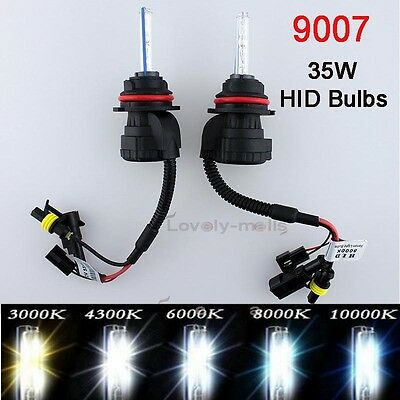 9007 HB5 35W AC HID headlight Factory Direct Replacement Bulb H/L water proof L2