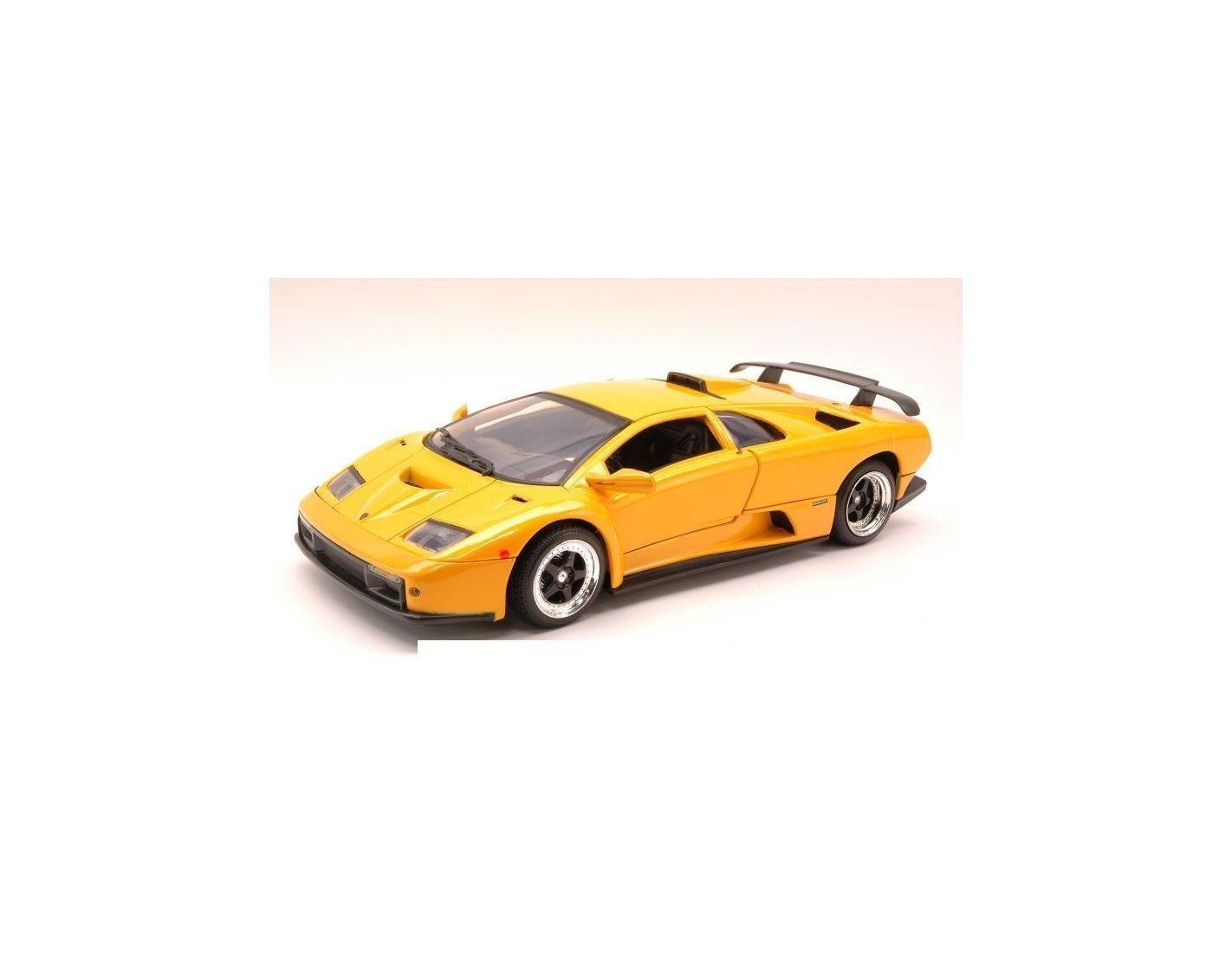Lamborghini Diablo Gt 1999 Yellow 1 18 Modellino Motormax Mtm73168yl