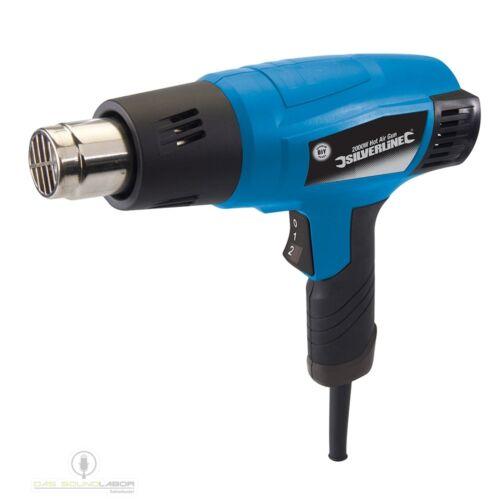 Heißluftpistole 2000W 550°C Heißluft-Gerät Heißluft Gebläse Pistole+Zubehör NEU