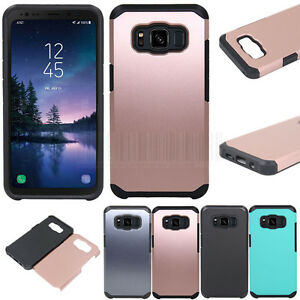 Slim-Hybrid-Hard-Armor-Case-Shockproof-Rubber-Cover-For-Samsung-Galaxy-S8-Active
