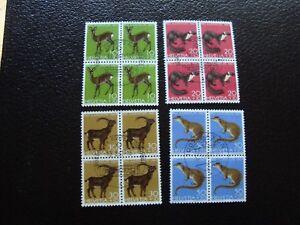 Switzerland-Stamp-Yvert-and-Tellier-N-799-A-802-x4-Obl-Z14-Stamp-Switzerland
