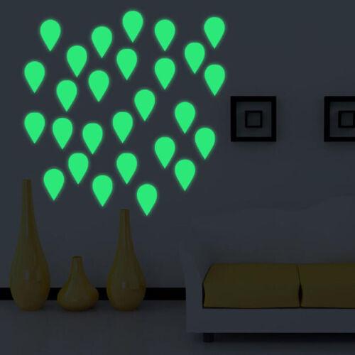 Luminous Home Switch Sticker Wall Sticker Decoration Fluorescent Water Drop G