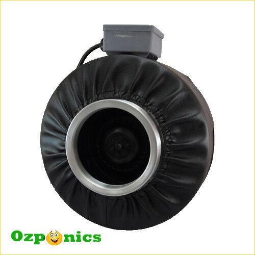 Conducto en línea de 10  Ventilador Hidroponía Soplador centrífugo de escape ventilación