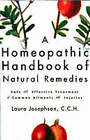 A Homeopathic Handbook of Natural Remedies by Laura Josephson (Paperback, 2002)
