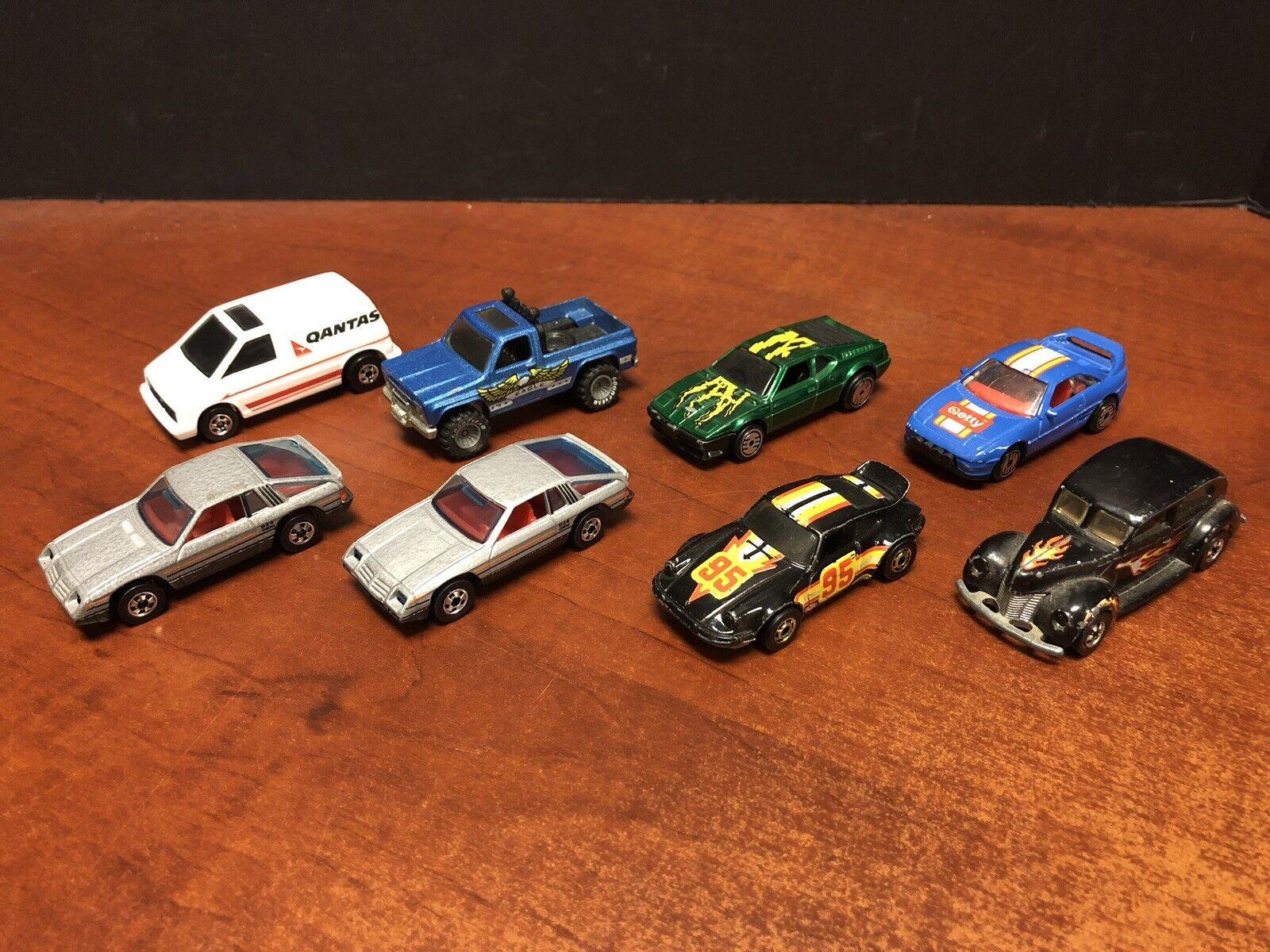 Hot Wheels nerowall Omni 924 Bywayman Porsche Lote de 8 EM2637 Suelto