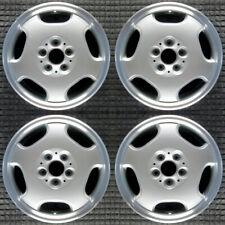 Mercedes Benz E300d Machined 16 Oem Wheel Set 1996 To 1999