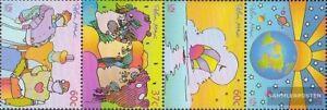 Uno Postfrisch 2002 Konferenz New York 900-903 Viererstreifen kompl.ausg.