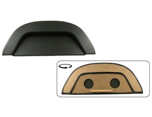 VW Escarabajo estante kofferaumabdeckung imitación cuero negro